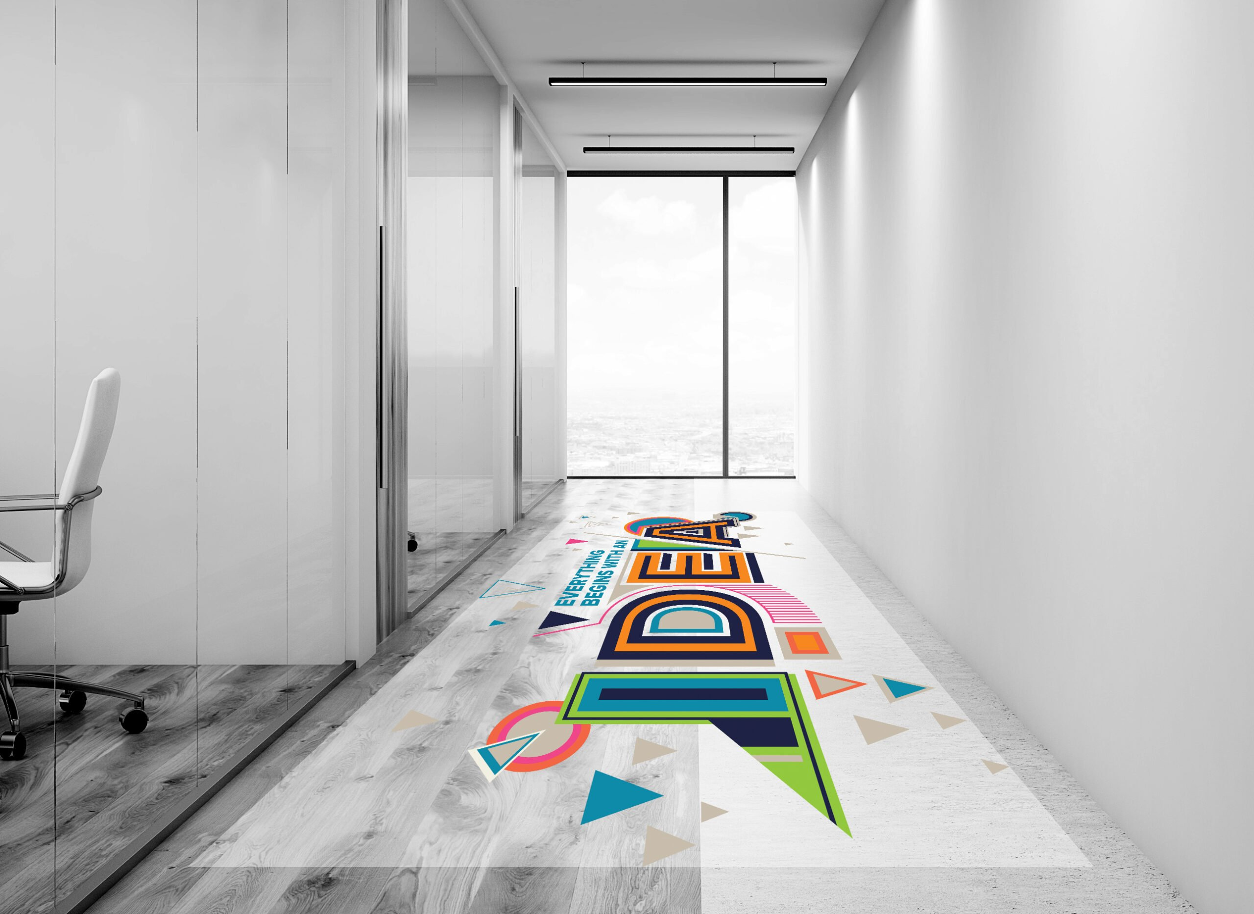 Floor Stickers from more than just print
