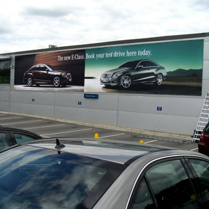 440gsm PVC banner printing in Bracknell