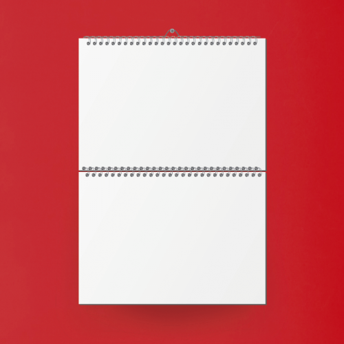A3 printed calendar