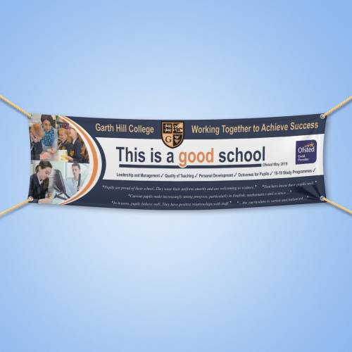 school banner