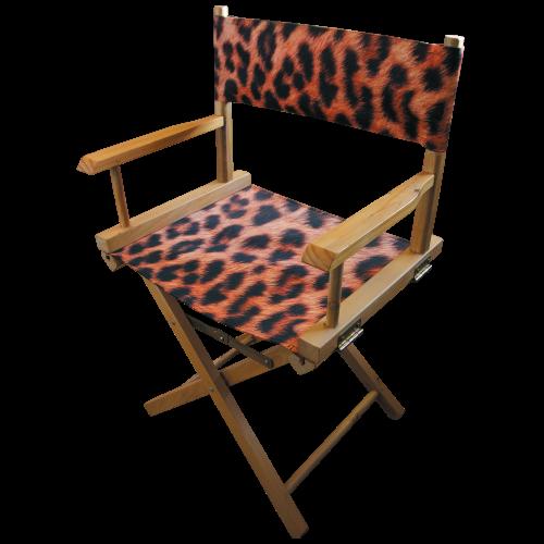 Printed Directors Chair