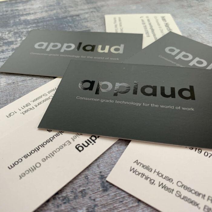 Spot Gloss Business Cards