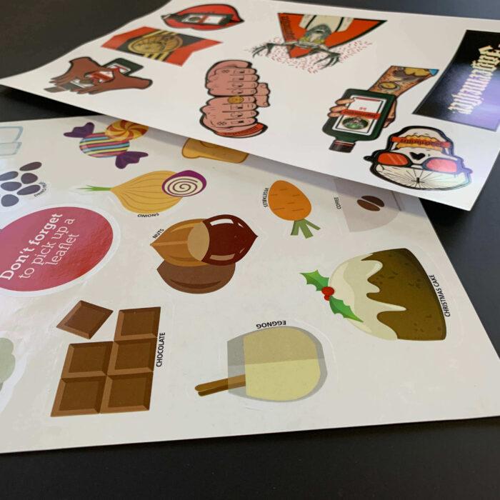 Shape Cut Stickers