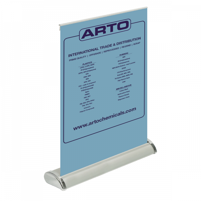 Mini Pull-Up Banners