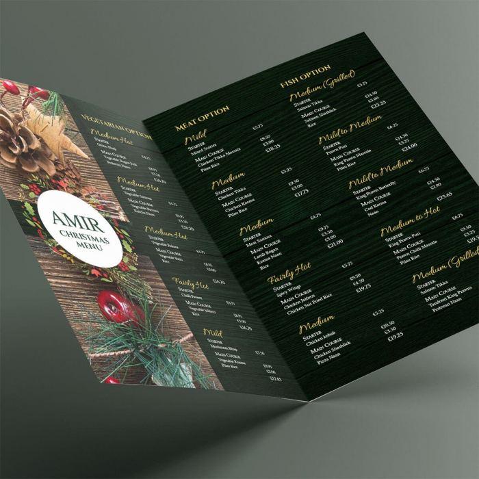 Bangladeshi christmas food menu