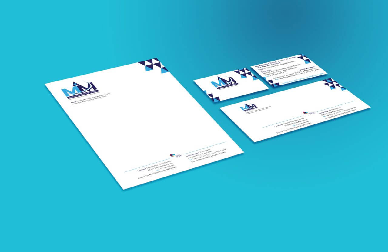 branded printed company stationery