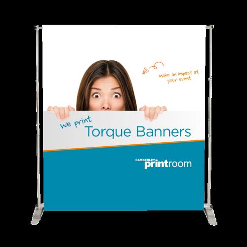 Torque Indoor Banner Stand