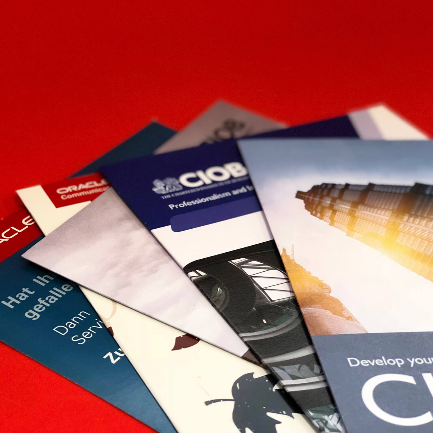 Various Leaflets and Flyers