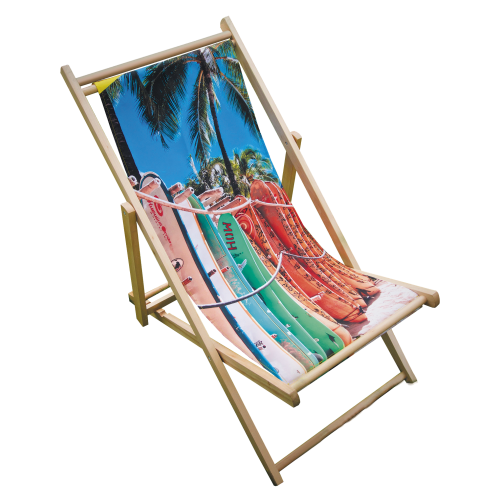 Printed Deck Chair