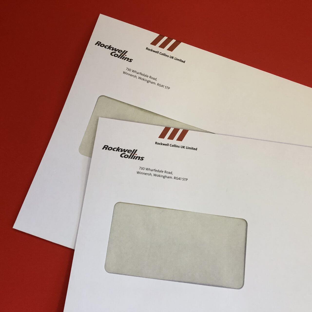 Envelope printing C4 Bracknell