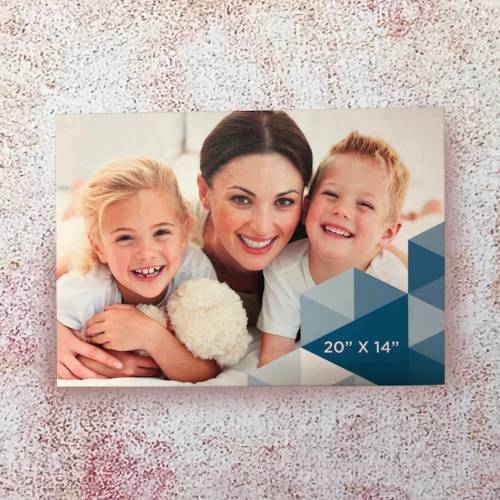 Canvas printing online with your own photo or image
