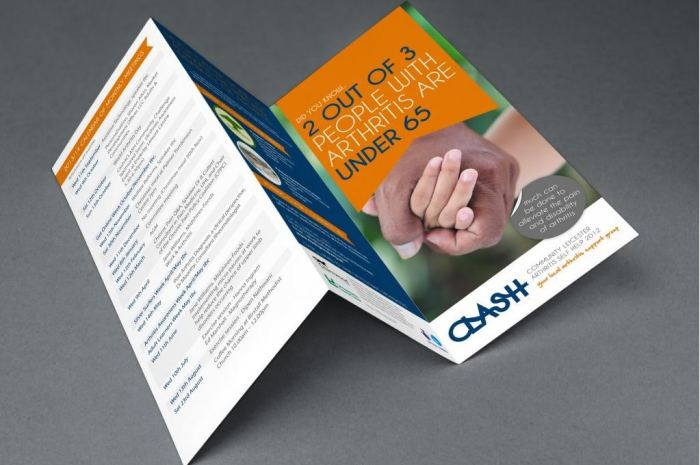 DL Trifold leaflet