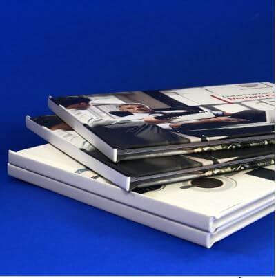 A5 Landscape Hardback bound books