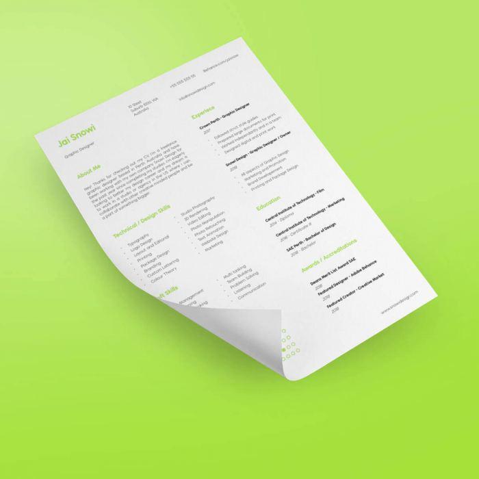 CV Printing