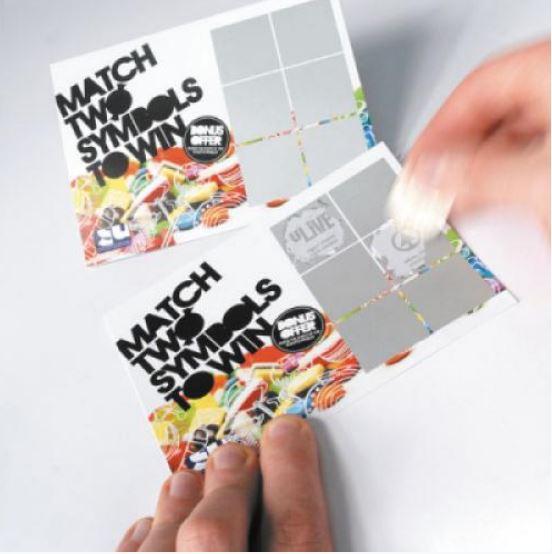 Printed Scratch Cards