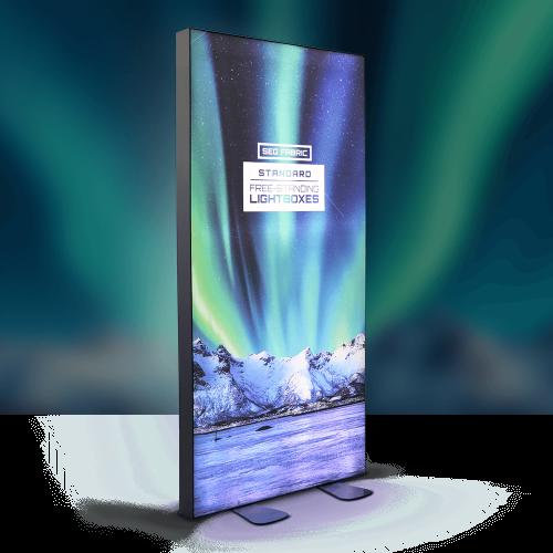SEG Fabric Free-Standing Lightbox