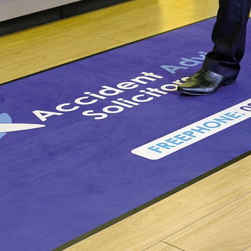 Logo Floor Mat