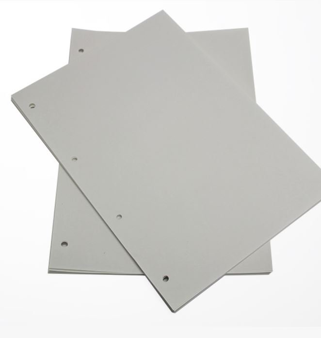4 hole punched paper