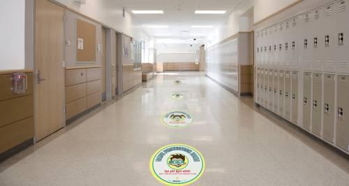Child Friendly Floor Stickers