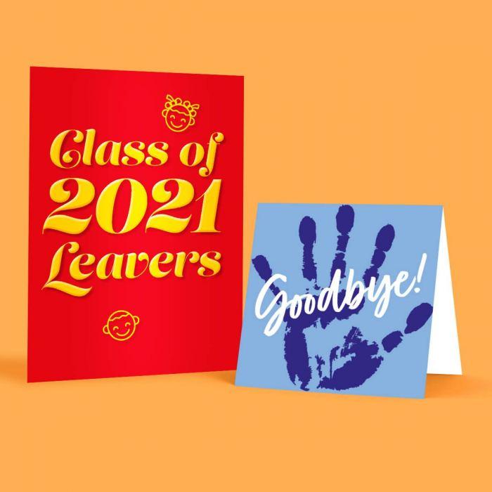 school leavers cards