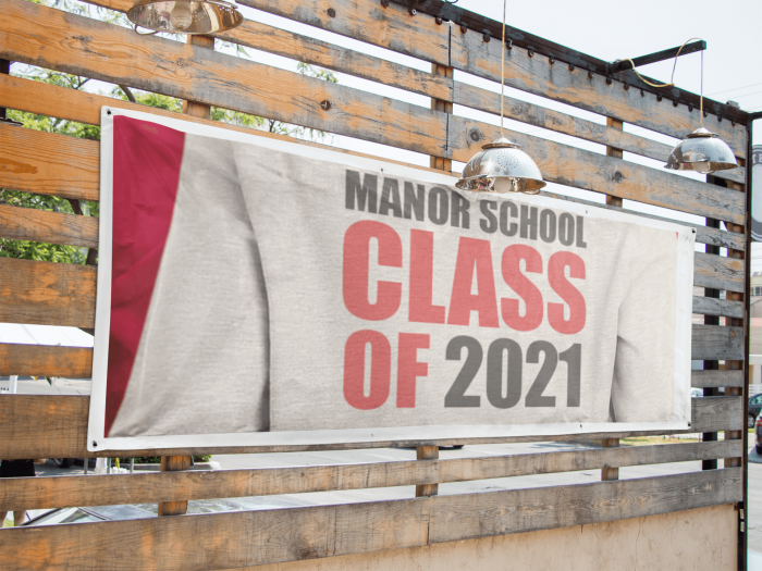School Leaver Banner