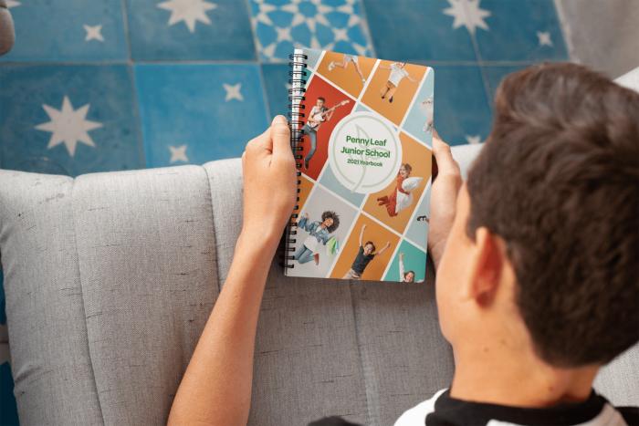 A5 School Leavers Book